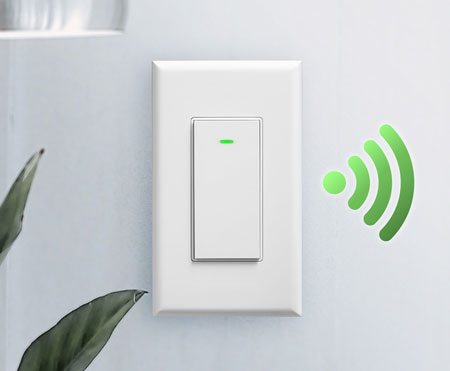 smart switch left